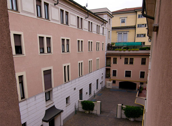 Residenza Universitaria Viscontea, sede di JUMP a Milano