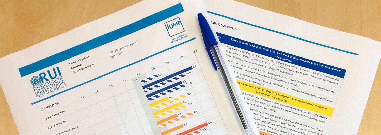 Report di valutazione delle competenze