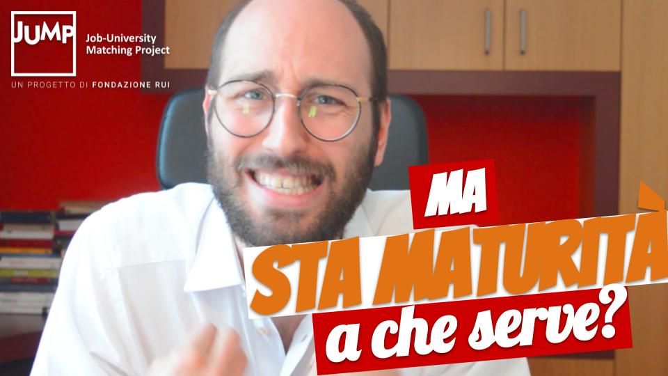 Ma sta maturità a che serve?