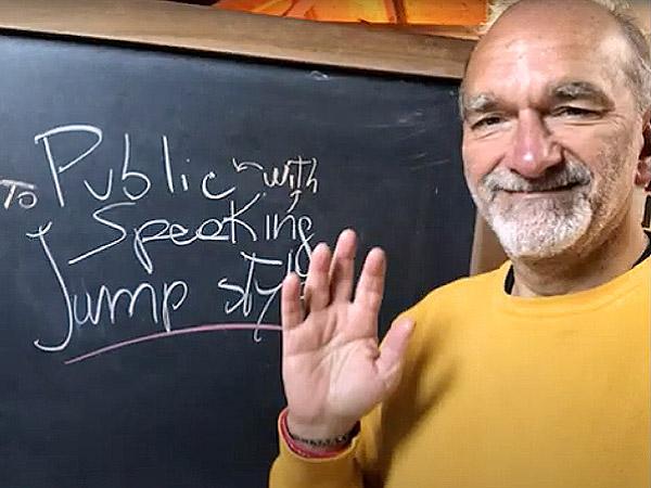 Alessandro Lucchini: per un public speaking Jump style
